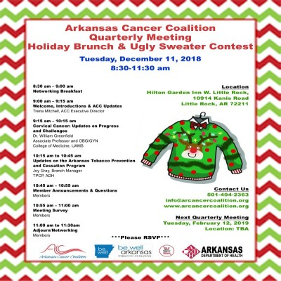 Arkansas Cancer Coalition flyer